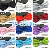 Wholesale 2015 Gentleman Wedding Party Tuxedo Marriage Butterfly Cravat New Men Bright Color Bow Tie Adjustable Business Bowties For Gifts