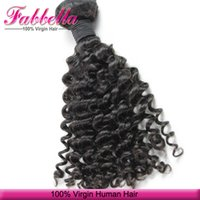 bulk order - Premium Unprocessed Human Hair Mongolian Virgin hair Human Hair Curly Extensions Bulk Order Cheap Price Hair Accpet Dropshipping
