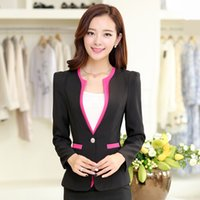 Cheap 2015 high-end Professional interview suit Women formal clothes 2 piece set women tailored suit vestidos women's clothing,Z4366