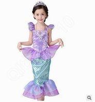 american children books - 100PCS LJJL37 Deluxe Mermaid Princess Girls Gown Dress Kids Fairytale Book Week Child Costume Loveheart Skirt