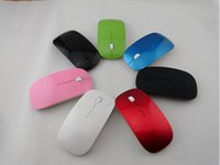 best thin laptop - Best price G Wireless Ultra Thin Optical Mouse Colorful For Laptop Notebook PC Crystal package