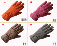 Wholesale Best winter ski gloves cycling gloves female lovely warm winter thickening touch screen Telefingers gloves