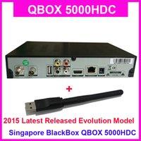 [4pcs / lot] Receptor 2015 de la TV por cable de Singapur qbox 5000hdc 2015 StarHub, igual que Blackbox 700HDC, upgarde de Blackbox C808 más