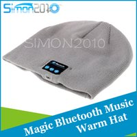 army speaker - NEW Soft Warm Beanie Bluetooth Music Hat Cap with Stereo Headphone Headset Speaker Wireless Mic Hands free for Men Women Gift