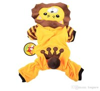 pet and dog diapers - Lion dog clothes Teddy Autumn Sweater Teddy pet dog clothes fall and winter clothes legs