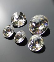 Wholesale Loose Diamonds PCT points DIY Synthetic Diamond Drilled Glass Rhinestones Best Quality Fast delivery