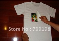 Wholesale A4 size Light Color heat transfer paper t shit decal paper sublimation paper