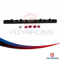 Wholesale PQY STORE New FUEL RAIL For BMW E30 High Quality Black fuel rail PQY5470BK