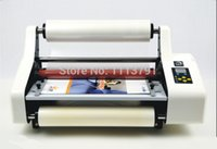 Wholesale New quot i350 Laminator Four Rollers Hot Roll Laminating Machine electronic temperature control single and sided a heating mode