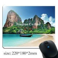 beach mouse pads - Berserk beach Background pattern Style Rectangular Rubber Notebook mouse pad