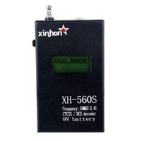 counter display - New Black YB Portable Frequency Counter LCD Display CTCSS DCS Decoder Frequency Meter for Two Way Radio MHz GHz J2002A