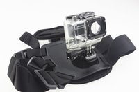 Wholesale F11179 B Underwater Waterproof Protective Housing Case Pet Dog Fetch Mount Harness Chest Back Belt Buckle Strap for GoPro Hero3