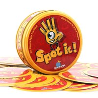 Wholesale Spot it Card games Popular Christmas Toys Award winning game of visual perception for the whole family Popular Board Game