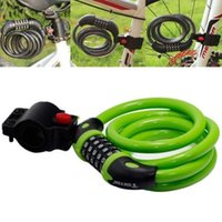 bicycle lock heavy - Bike Bicycle Heavy Duty Cable digit Combination Password Bike Bicycle Lock Brand New Good Quality