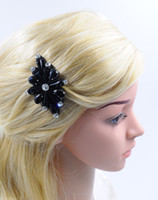 Wholesale New Hairclip Girl Women Crystal Hair Accessories with Rhinestone Fashion Specail High Quality Handmade Beading