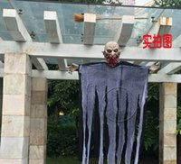 animate mouth - 2015 New Large hanging Latex Rotten mouth Animated Halloween Prop Haunted House Yard Scary Decor