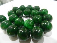 Wholesale Genuine Natural mm Green Round Emerald loose beads
