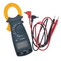 Wholesale Portable AC DC Voltage LCD Digital Clamp Multimeter Electronic Tester Meter