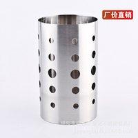 Wholesale Manufacturers selling kitchen shelf stainless steel chopsticks tube kitchenware Lishui cm kitchen supplies