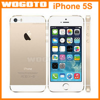 Wholesale 2015 Original Apple iPhone S Unlocked iPhone S i5S Mobile Phone Dual Core GB GB quot IPS A7 iOS G MP WIFI Cellphone Refurbished