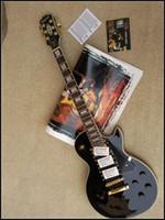 Mahogany beauty hands piece - 2015 LP Custom Electric Guitar Mahogany Body One Piece Neck Black Beauty Golden Hardware