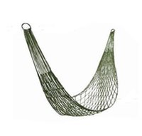 Cheap Fun Outdoor furniture toy hammock hammock Swing net Mini nylon mesh single hammock