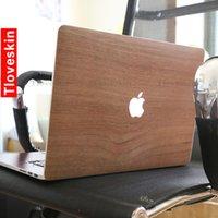 Wholesale Wood grain Laptop Skin Decals for Macbook macbook sticker macbook decals