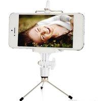 Wholesale Yunteng Professional Bluetooth Shutter Wireless Controller Monopod Handphone Clip phone holder mini Tripod for Iphone plus Free DHL