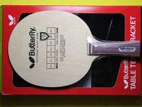 Wholesale Butterfly kobel table tennis blade table tennis rackets table tennis bats pingpong racket long handle shakehand