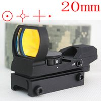 Wholesale Hunting Tactical mm mm x22x33 Reflex Holographic Reticle Red Dot Sight Scope Picatinny Weaver Rail