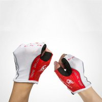 air equipment sales - Hot Sale Fashion Half Finger Cycling Gloves Road Mountain Bike Gloves Outdoor Air Movement Thin Gloves Sports Bicycle Equipment