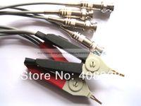 Wholesale 1 Sets DC Low Resistance Test Clip Probe pin XLR Plug
