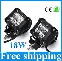 Wholesale 50 W Cree LED Work Light Bar Lamp Motorcycle Tractor Boat OffRoad WD x4 Motor Truck SUV ATV Spot Flood Beam v v