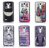 Wholesale Lg Optimus Plastic Cover - For LG G3 g4 Color Painting back cover Hard case Customized Print Skin for LG optimus G3 G3 mini Various Pattens In Stock Free Shipping