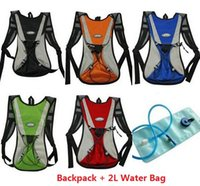Wholesale 2L Outdoor Sports Hiking Camping Cycling Bicycle Bike MTB Road Hydration Backpack Rucksack Bag L Blue TPU Water Bag