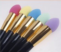 Wholesale Fashion Makeup brushes color powder puff beauty Colorful make up sponges Latex Free Applicator Puff Foundation Sponge Blender Tools