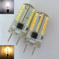 Wholesale NEW W V SMD G8 Dimmable LED light bulb lamp warm white LED halogen replacement