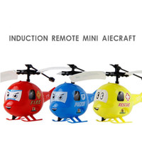 Wholesale Hot Mini Aircraft Cute Toughness Soft Simple Fire Rescue Police Remote Helicopter Aircraft Toy for Children Gift
