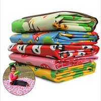 Wholesale Children s Game Blanket Baby Crawling Beach Cushion Picnic MATS for Outdoor Outing Designs Can Choose MC