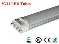 Wholesale 30pcs G11 LED tubes w w w w mm mm mm mm led bulbs tubes lighting85 V