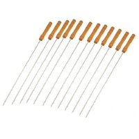 barbeque thermometers - IMC Wooden Handle Metal Shaft BBQ Needle Barbeque Tool order lt no track