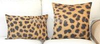 Wholesale Super quality Cotton Linen Pillow Case Fashion Leopard Pattern Hold Cushion Cover Waist Pillowcase DECORATIVE PILLOW quot