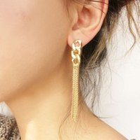 baby earings - New Arrival Pendant Gold Earrings For Girls Pairs A Fashion Jewelry Stores Lovely Long Drop Earings Baby Accessories Cheap Earing
