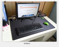 Wholesale 90 cm Sizes Large Gaming Mouse Pad Mat for CS CF WOW Laptop Computer Black