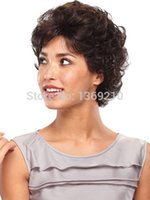 Wholesale High Quality Short Wigs Women Fluffy Curly Wig Synthetic Hair Wigs About Inches