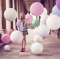 Wholesale Hot Colorful Big Ballons Valentine s Day Romantic Ballons Wedding Party Bar Decoration Photo Photography Children Gift High Quality DCBH62