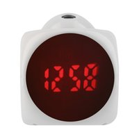 lcd talking alarm clock - New Lovely Digital LCD Voice Talking Snooze Alarm Clock LED Time Temperature Desk Bed Students Clock