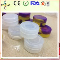 Wholesale Hot Sale The High Quality ml Clear color Silicone Container Jars Dab For Concentrate Wax