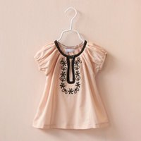 Cheap Casual Pants babies clothes Best Girl Spring / Autumn floral shirts