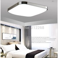 Wholesale Fast Wholesales Square W x30cm Modern Acrylic LED Apple Ceiling lamp Kitchen Indoor Living Room Home plafoniere a led